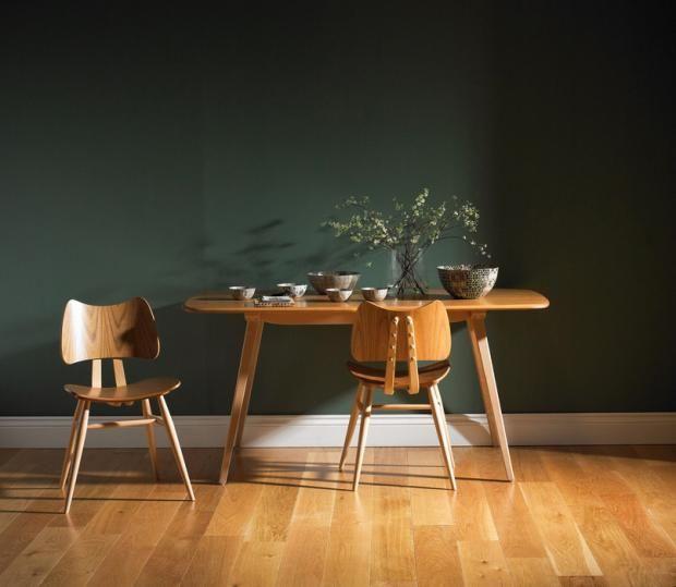 Die besten 25+ Tapete grün Ideen auf Pinterest Watercolor wall - wohnzimmer in grun und braun