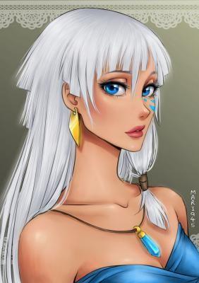 Комментарии к статье: Вот какбы выглядели принцессы Диснея, еслибы они были персонажами аниме