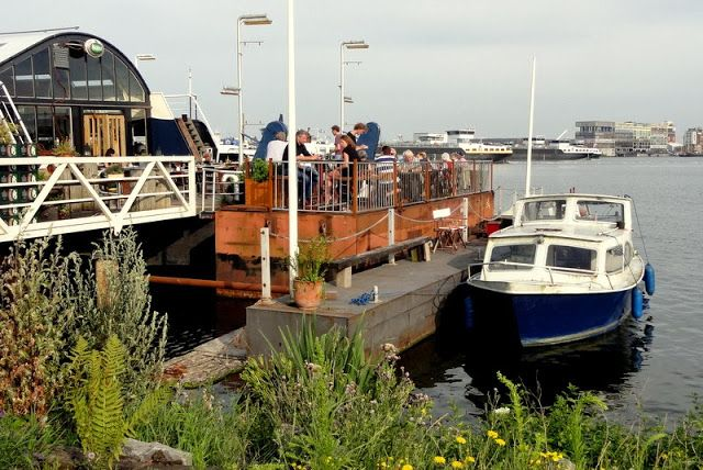 Travel and Lifestyle Diaries Blog: Dinner in a Refurbished Boat Restaurant in Amsterdam: Pont 13