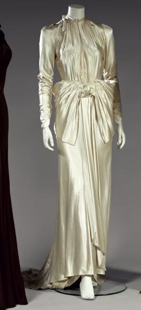 LOUISE BOULANGER   Robe de mariée, 1929