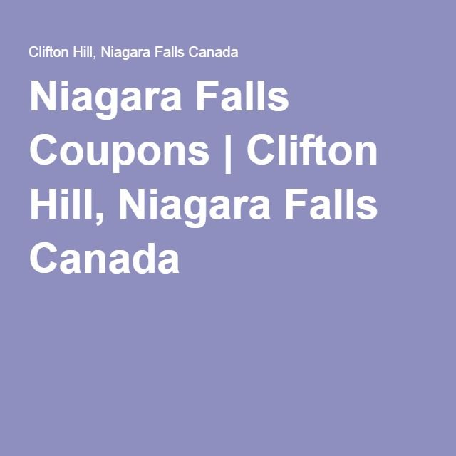 attraction coupons niagara falls canada