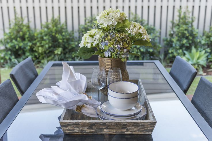 This #table #setting is from Ausbuild's Attwood display home. www.ausbuild.com.au.
