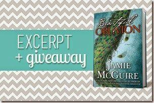 {Excerpt + Giveaway} Beautiful Oblivion by Jamie McGuire