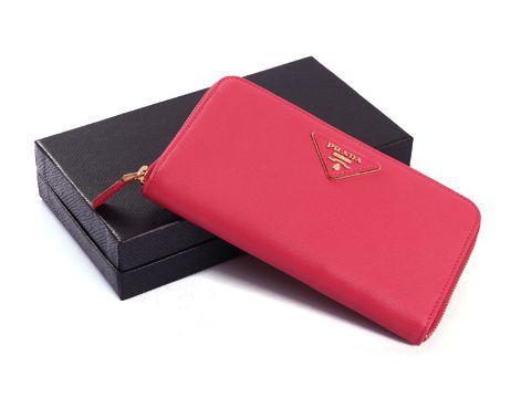 Prada Rose Long Wallets Size(WxHxD): 19 x 2 x 9 cm Prada Rose Long Wallets  comes with: original box, care booklet, Prada dust bag, Prada Card, tag.