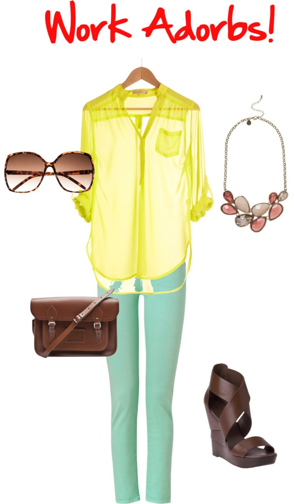Work Wear, created by courtney-cason-hathaway on Polyvore