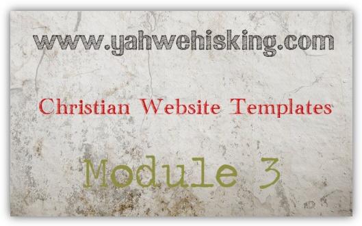 Christian Website Templates