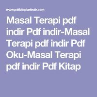 Masal Terapi pdf indir Pdf indir-Masal Terapi pdf indir Pdf Oku-Masal Terapi pdf indir Pdf Kitap