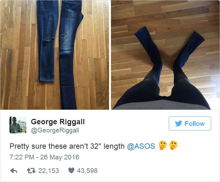 """Pretty Sure These Aren't 32"""" Length"""