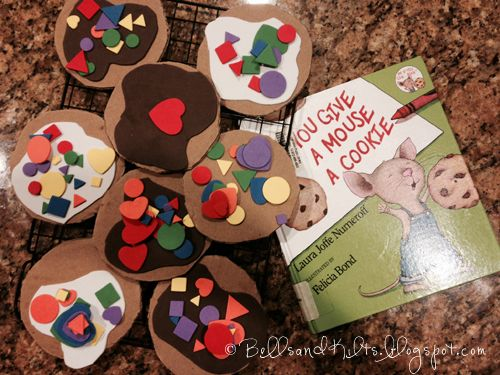 If You Give A Mouse A Cookie Book Craft Combo For