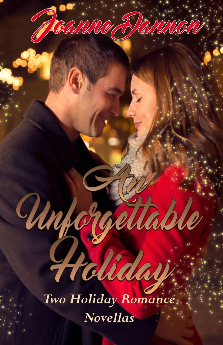 An Unforgettable Holiday contains two sweet, romantic holiday novellas by Joanne Dannon.