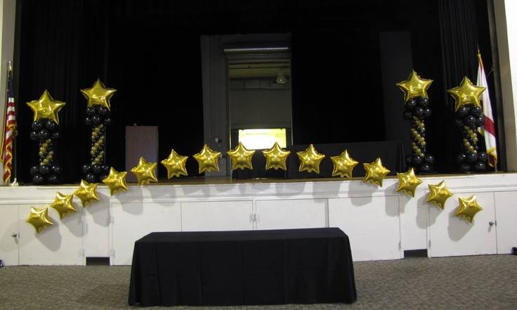 12 best images about drama banquet ideas on pinterest for Decor 4 events