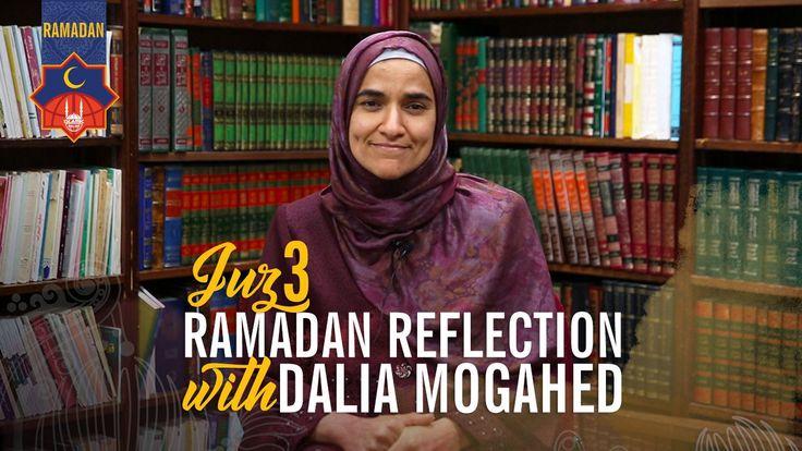 Ramadan Reflections: Juz 3 with Dalia Mogahed http://ift.tt/2rtLQxe