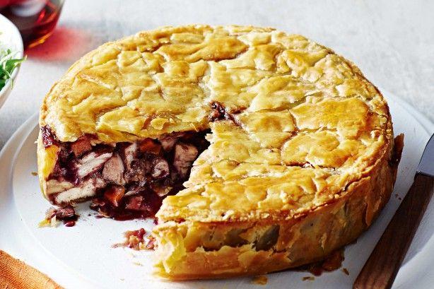 Coq Au Vin Pie Recipe
