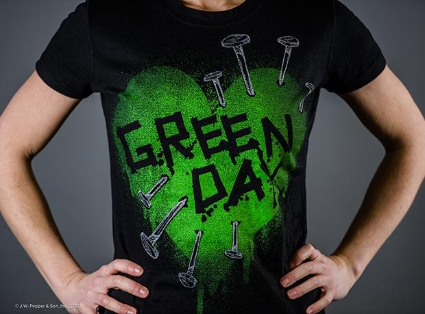 Green Day Nail Heart Women's T-shirt | Sonifly®