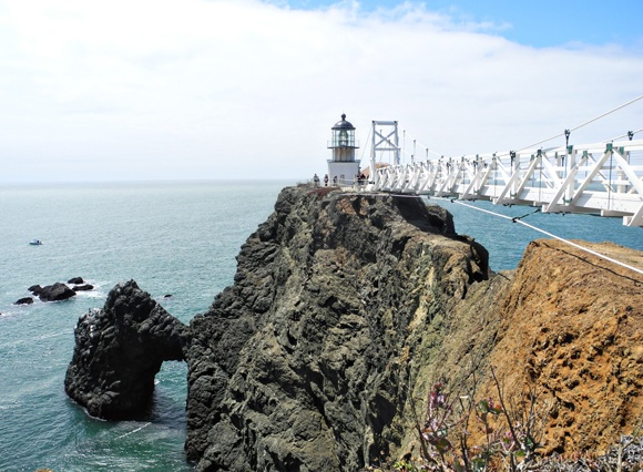 Point Bonita Lighthouse - Marin Headlands - Northern California