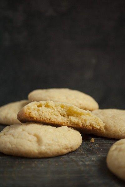Печенье с белым шоколадом и заварным кремом