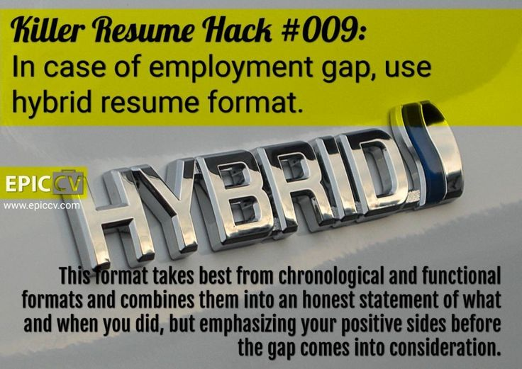 32 best images about Resumes on Pinterest - explaining gaps in resume