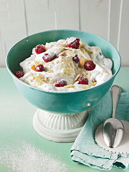 Süße Sünde-Dessert mit Kirschen und Mascarpone