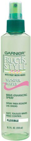 Garnier Fructis Style Wonder Waves Non Aero Hairspray, 8.50-Fluid Ounce