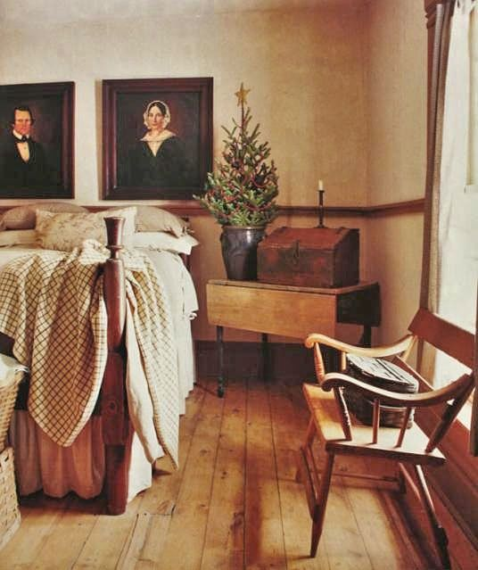 338 Best Images About Primitive/Colonial Bedrooms On