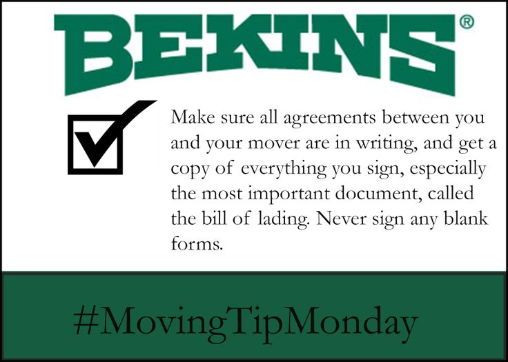 this tip comes from american moving  u0026 storage association  be sure to check out their top ten