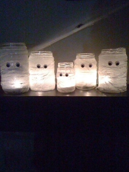 Halloween: Mummy Lights