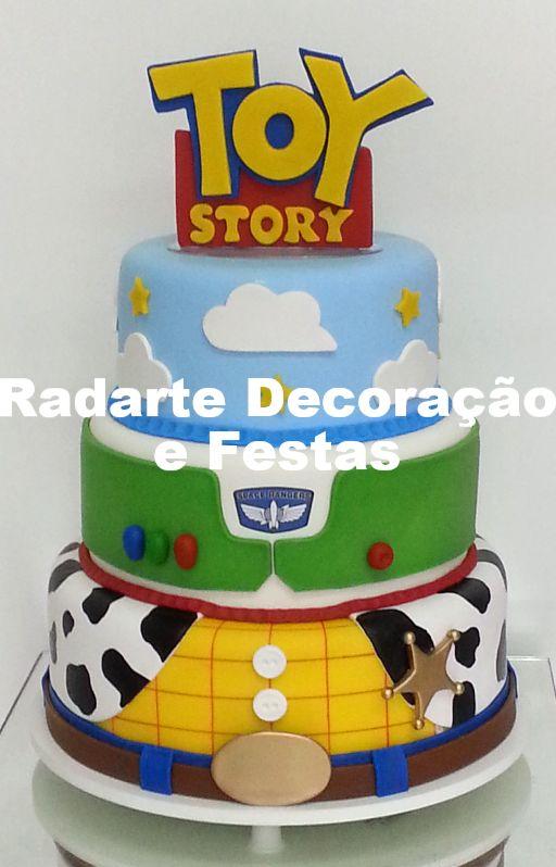 Bolo Cenográfico Toy Story - Aluguel