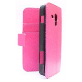 Galaxy Ace 3 hot pink puhelinlompakko