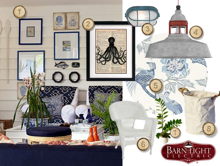Decorate Your Beach House Or Coastal Cottage With Marine Inspired Home Decor And Nautical Accents