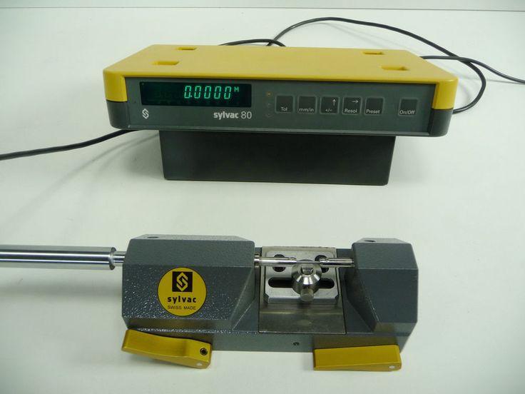 "Sylvac PS15 Bench Micrometer 23mm/~1"" Comparator Gage Watchmakers Length Measuri #Sylvac"