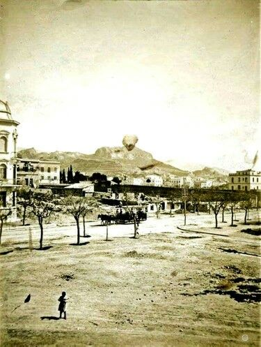c.1900 ~ Patission Ave. in Athens