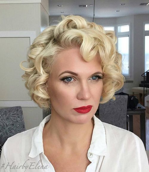 25+ Best Ideas About Blonde Curly Hairstyles On Pinterest