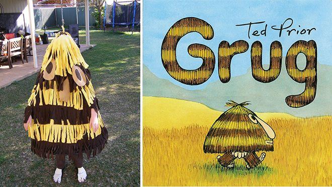 The best DIY book week costumes: Grug| Mum's Grapevine