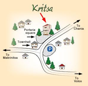 Hotel Kritsa Access Map