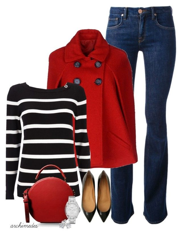 """Just a Red Cape"" by archimedes16 ❤ liked on Polyvore featuring dVb Victoria Beckham, Route des Garden, Wallis, Dolce&Gabbana, FOSSIL, Reeds Jewelers, women's clothing, women, female and woman"