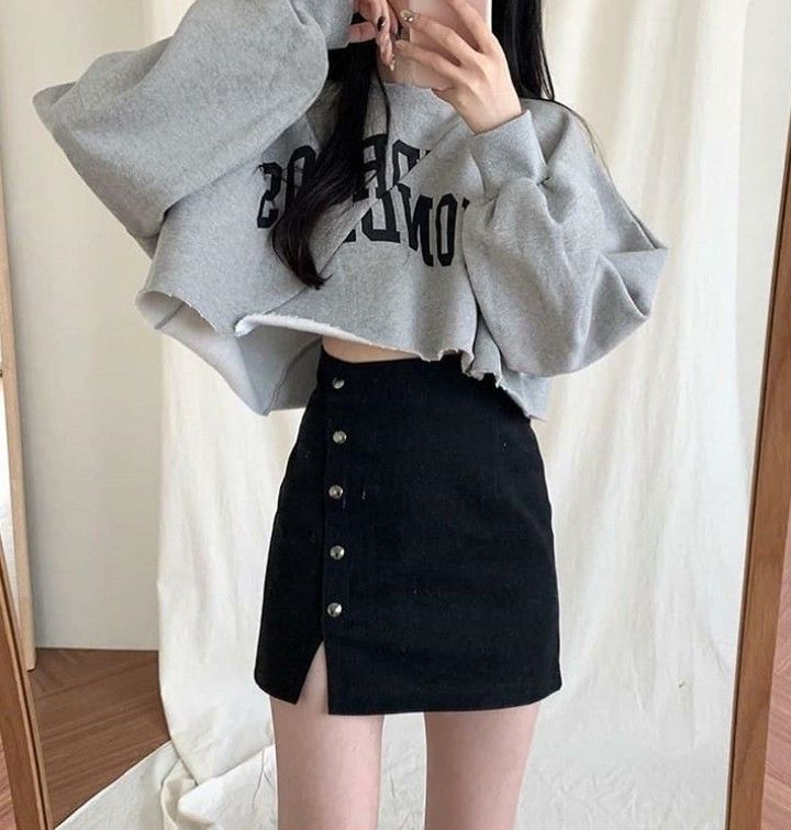 صور ملابس مثيرة كوريا Cute Skirt Outfits Teenage Fashion Outfits Kpop Fashion Outfits