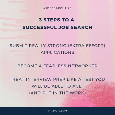 3 Steps To Leading A Successful Job Search. Common Interview QuestionsCareer  AdviceJob ...