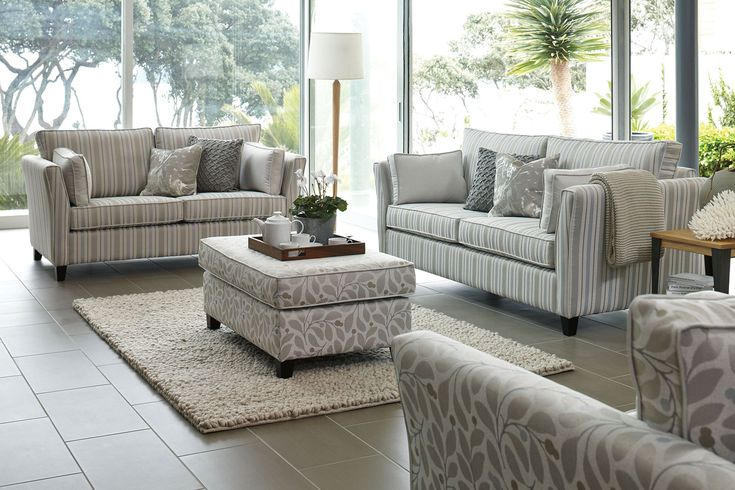 If you are looking for a lounge suite that will fit perfectly into a modern décor then look no further than theVienna 2 Piece Fabric Lounge Suite by Evan John Philp. This lounge suite's neutral tones can be matched with a range of colours and textures to add a sense of warmth and depth into your lounge.