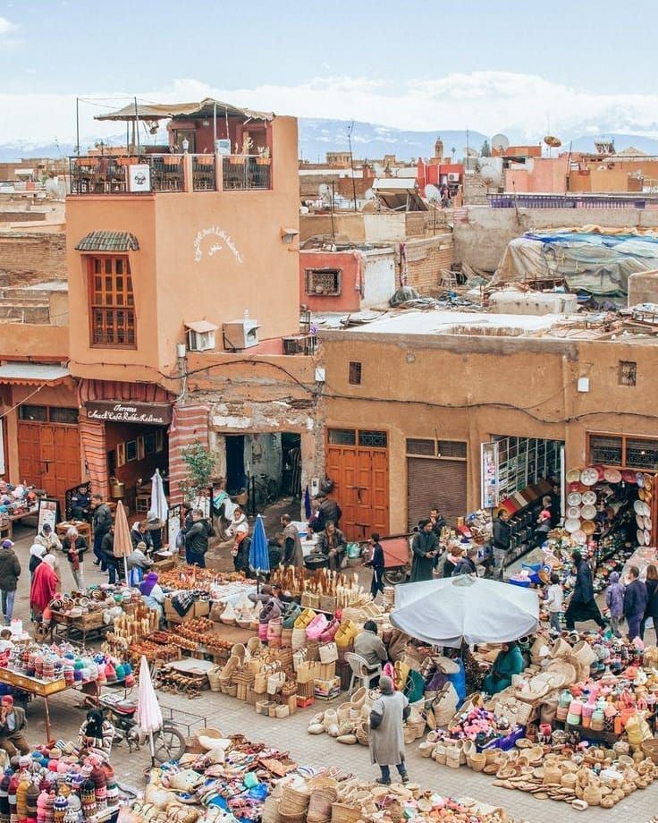 Explore The Souks Picturesque Markets Of Marrakech During A Tailor Made Tour Discover The Local Trade Of The Medina A Marrakech Travel Marrakech City Guide