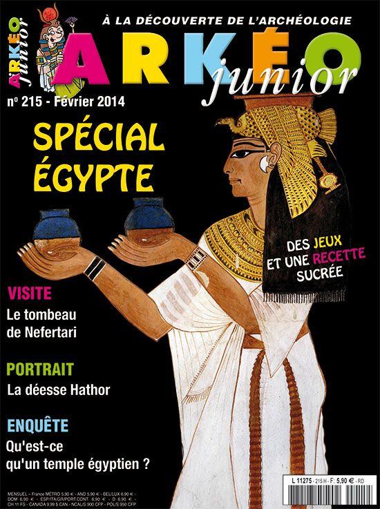Spécial Égypte | Arkéo Junior n° 215