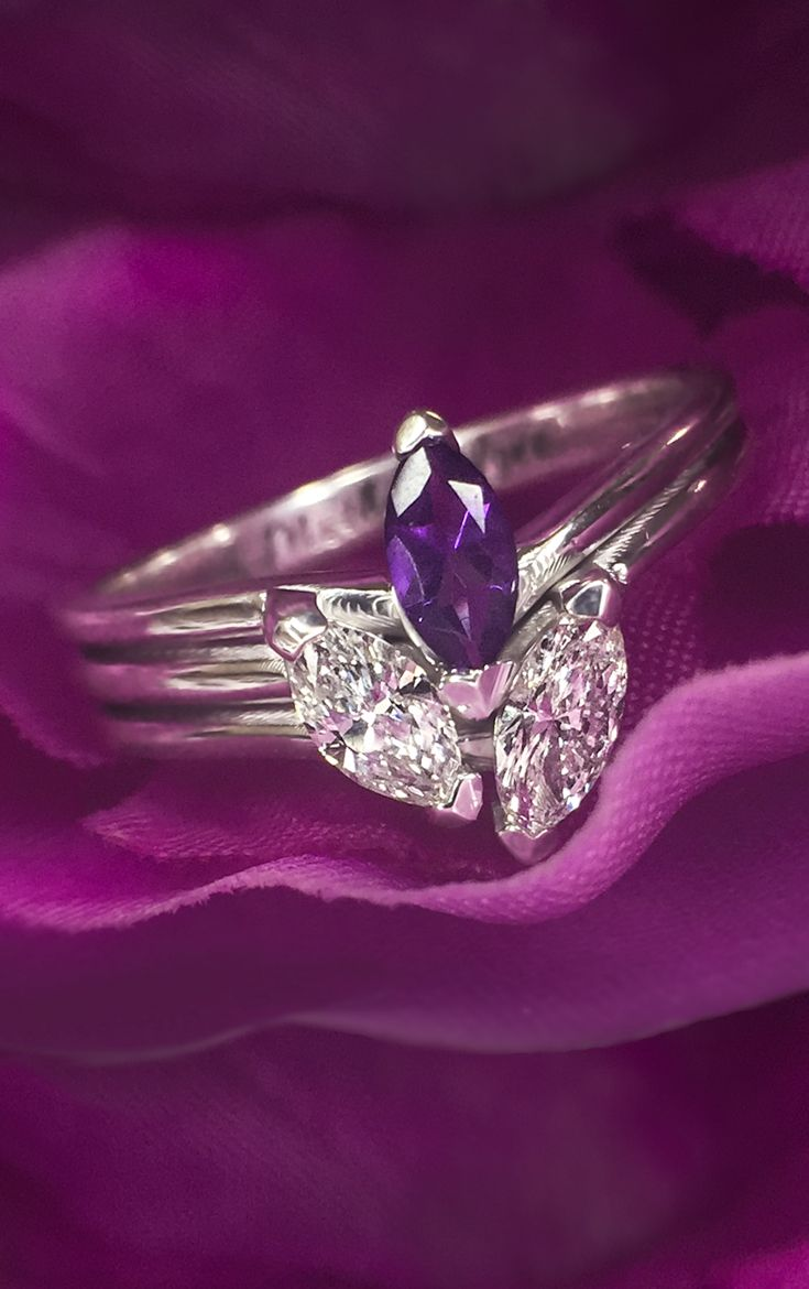 Take this dreamy marquise ring and make it your own! Personalize for you or the one you love with special birthstones and your choice of metal and engraving. It's the perfect engagement ring, mother's ring, promise ring or sparkling accessory.