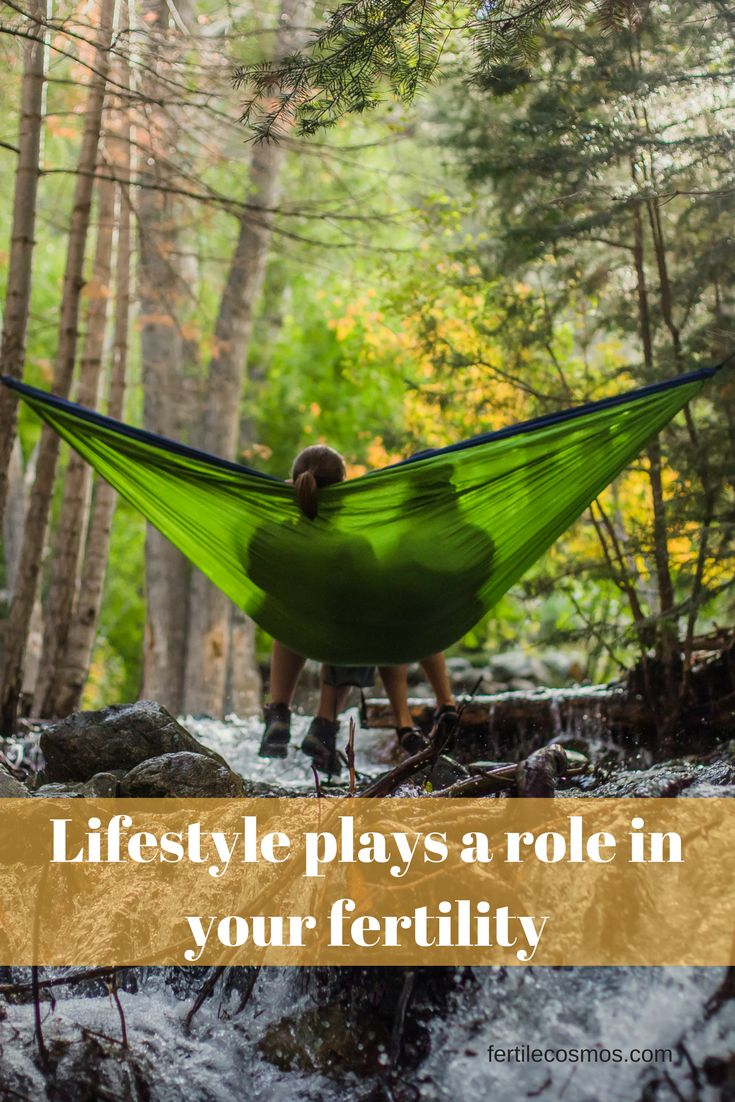 Lifestyle plays a role in your fertility