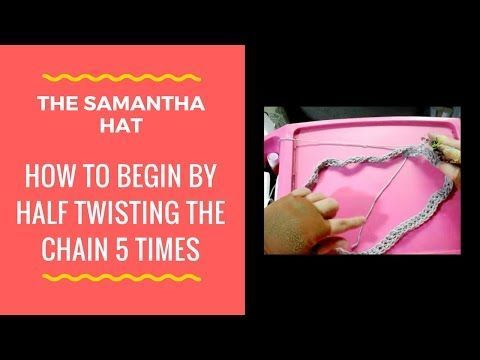 Seven Reasons why you should consider about the Samantha crochet turban beanie slouchy hat.  The brim of the hat looks like 5 propellers. It combines many designs. This is a unique hat you will ne…