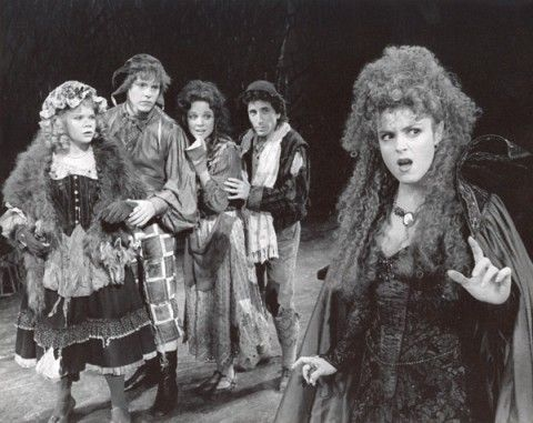 Into the Woods--- Bernadette Peters was FABULOUS as the wicked witch!
