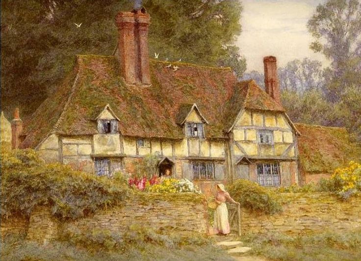 326 Best Painting For Cosy Cottage Images On Pinterest