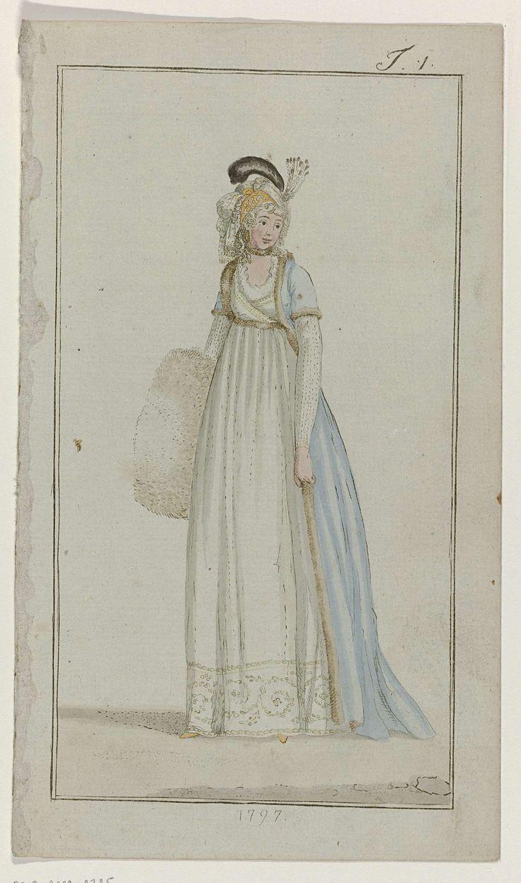 Journal des Luxus und der Moden, 1797, T 1, Georg Melchior Kraus, 1797