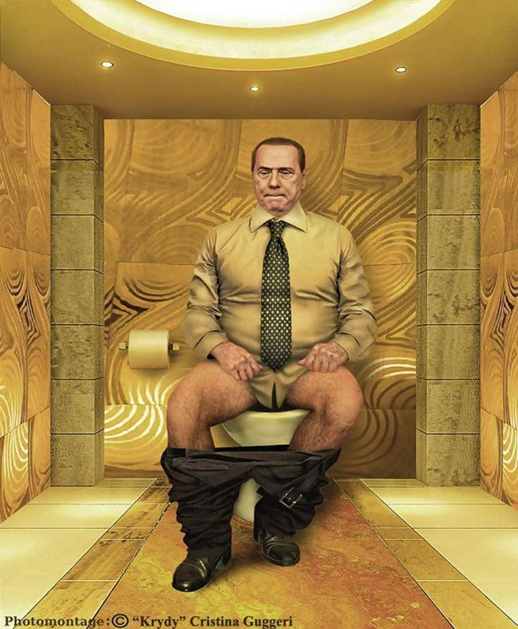 Silvio Berlusconi Photo Montage ©Cristina Guggeri