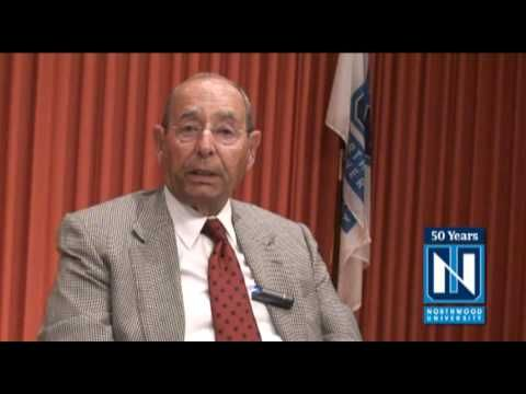 Northwood University - Dr. Richard DeVos Speaks About the DeVos Graduate School Program