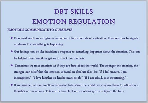 Dbt emotion regulation worksheet 1
