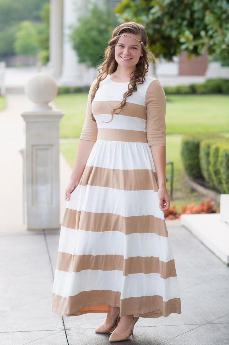 93 best dainty jewells images on pinterest modest dresses chic lady dress tan ombrellifo Gallery
